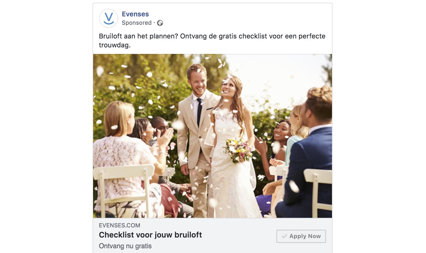 Evenses – In-house training & social advertising